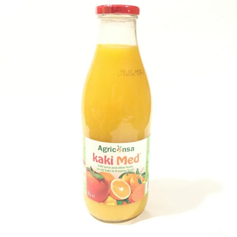 Zumo de Kaki, Naranja y Mandarina 1L-