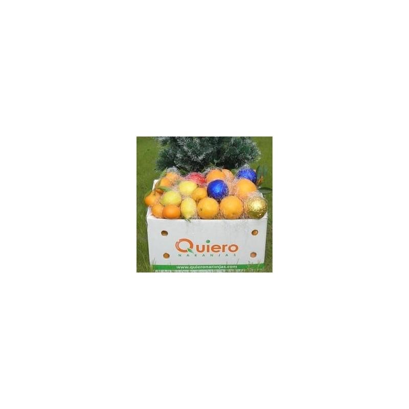 Spéciales Oranges écologiques 7 kg, Mandarines 3 kg, et 3 Citrons - 10 Kg