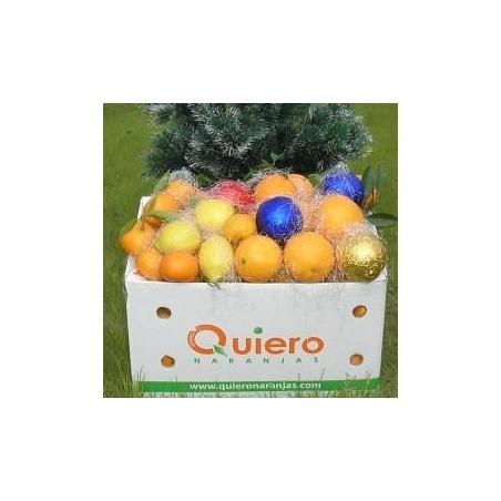 Caja Especial Ecológica: Naranjas 7 kg, Mandarinas 3 kg y 3 limones -10 Kg