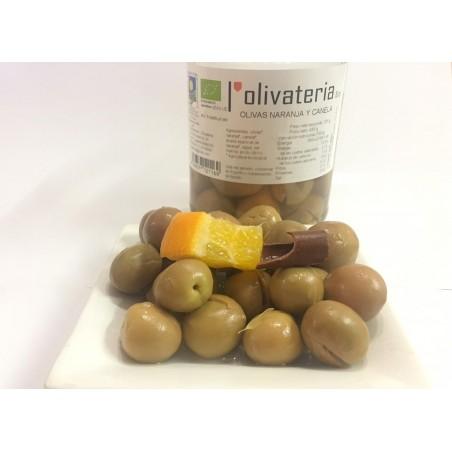 Bio-Aceitunas con Naranja y Canela 225 g