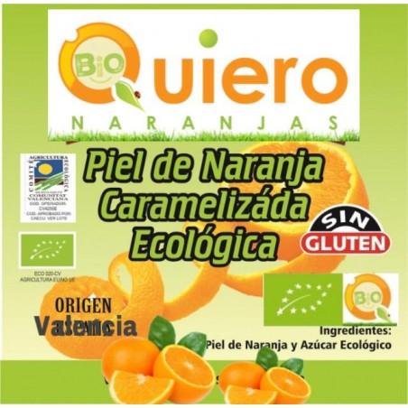 Orange rind Organic candied 100 g