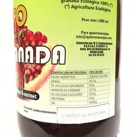 Zumo de Granada Ecológico 750 ml