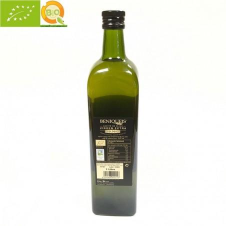 Organic oil Olive Extra Virgin, Beniqueis 1l (Alicante)
