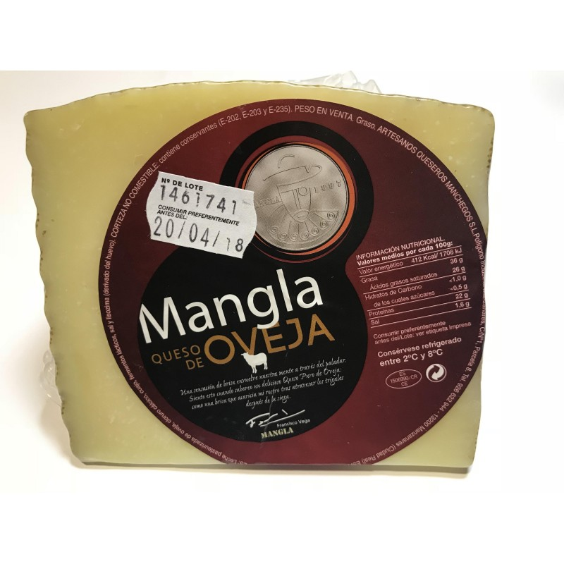 Manchego cheese cured sheep 475 - 500 g