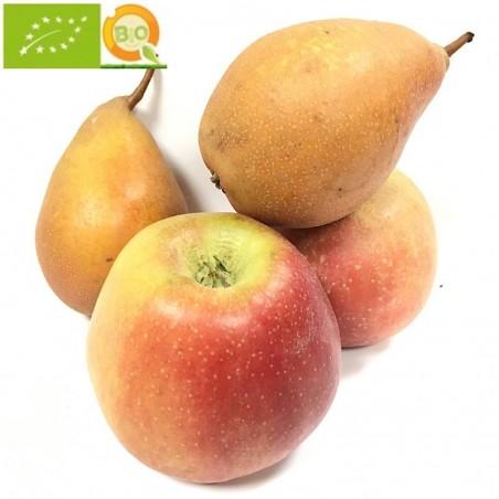 Poires Bio et Pommes Bio 5 kg