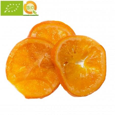 Rodajas de Naranja Ecológica confitada 100 g