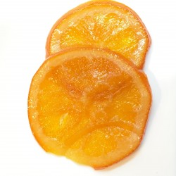 Orange slices Green candied 100 g