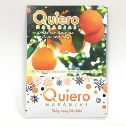 Regalo Calendario de Quieronaranjas 2020
