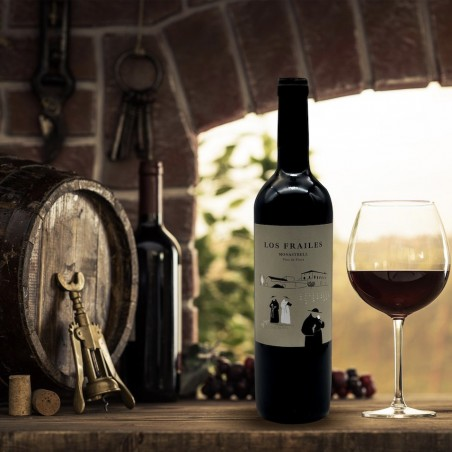 Organic Valencian young red wine 750 cl (los frailes)