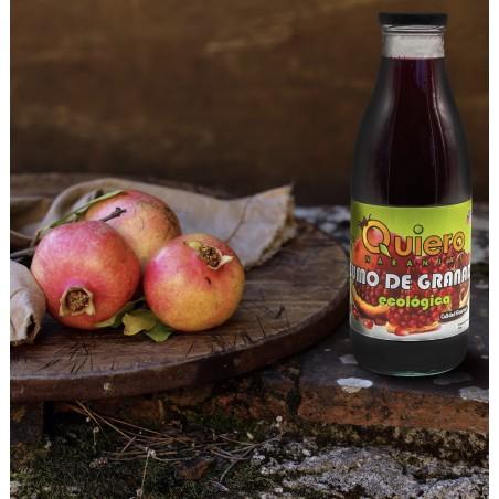 Organic Pomegranate Juice bottle 750 ml