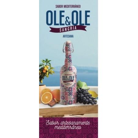 Rote Sangría von Ole & Ole, 750 cl