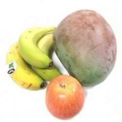 3 Sorten Bio-Früchte:...