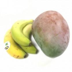 Organic Bananas and Mangoes...