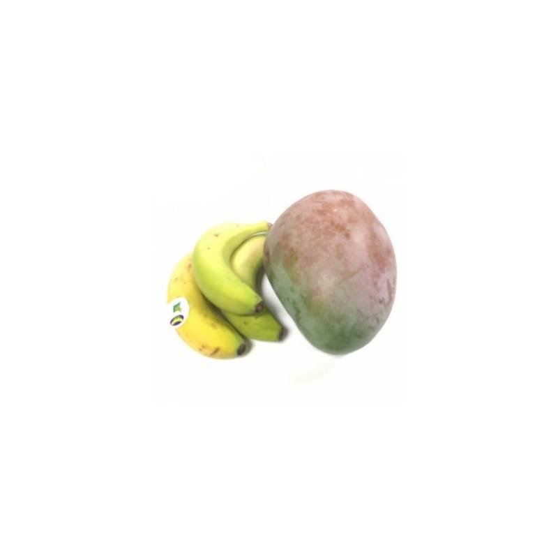 Plátanos y Mangos Ecológicos 5 kg (plátanos y mangos)