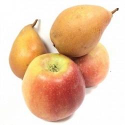 Bio-Birnen und Bio-Äpfel...