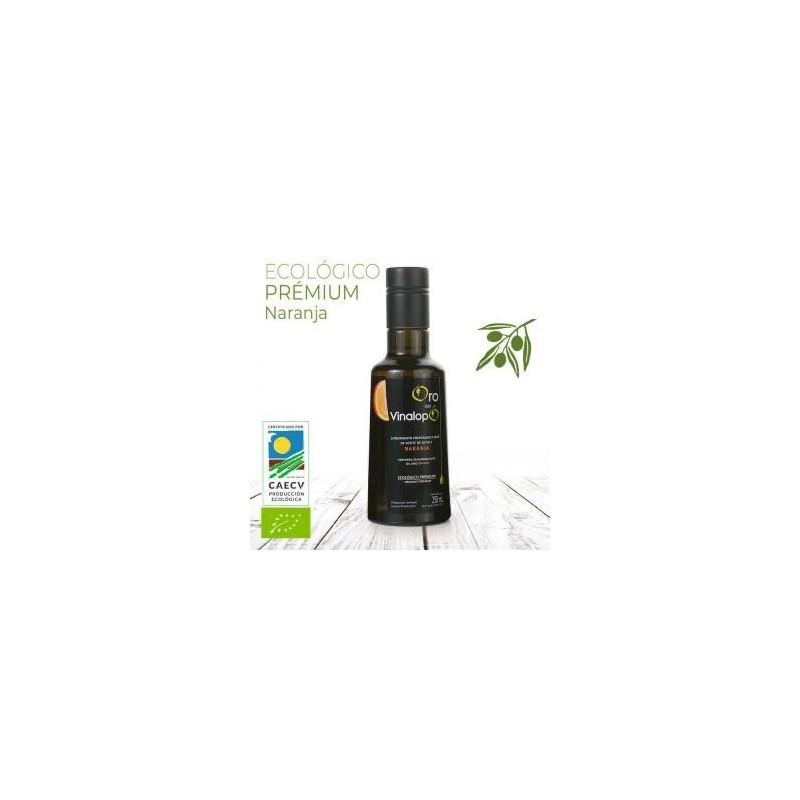 Organic Oil Virgin Olive oil with Orange 250 ml