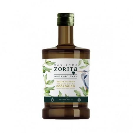 Organic Oil Extra Virgin Olive Hacienda Zorita 500 ml (aceite)