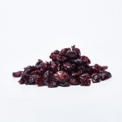 Organic dried cranberries...