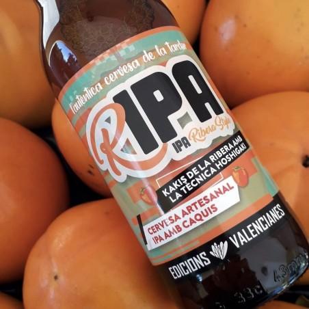 "Valencianisches Craft-Kaki-Bier, ""Ribera Style"", IPA, 33cl"