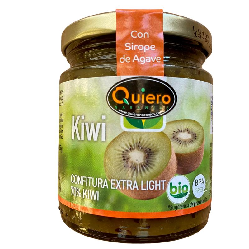 Bio-Kiwi-Marmelade und Agave 240 g