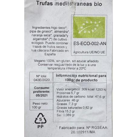 Truffes méditerranéennes biologiques 100 g