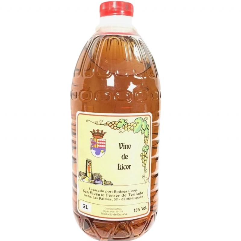 Mistela de uva Moscatel Selecta de Teulada 2 L