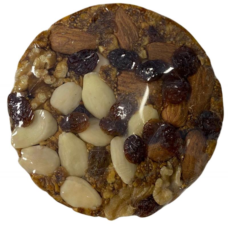 Feigenbrot mit Mandeln, Walnüssen und Rosinen 250 g  (pan de higos)