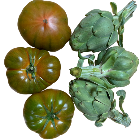 Tomate Raf y Alcachofas  -  5 kg