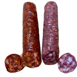 Salchichón Ibérico 200 g y Chorizo Ibérico 200 g