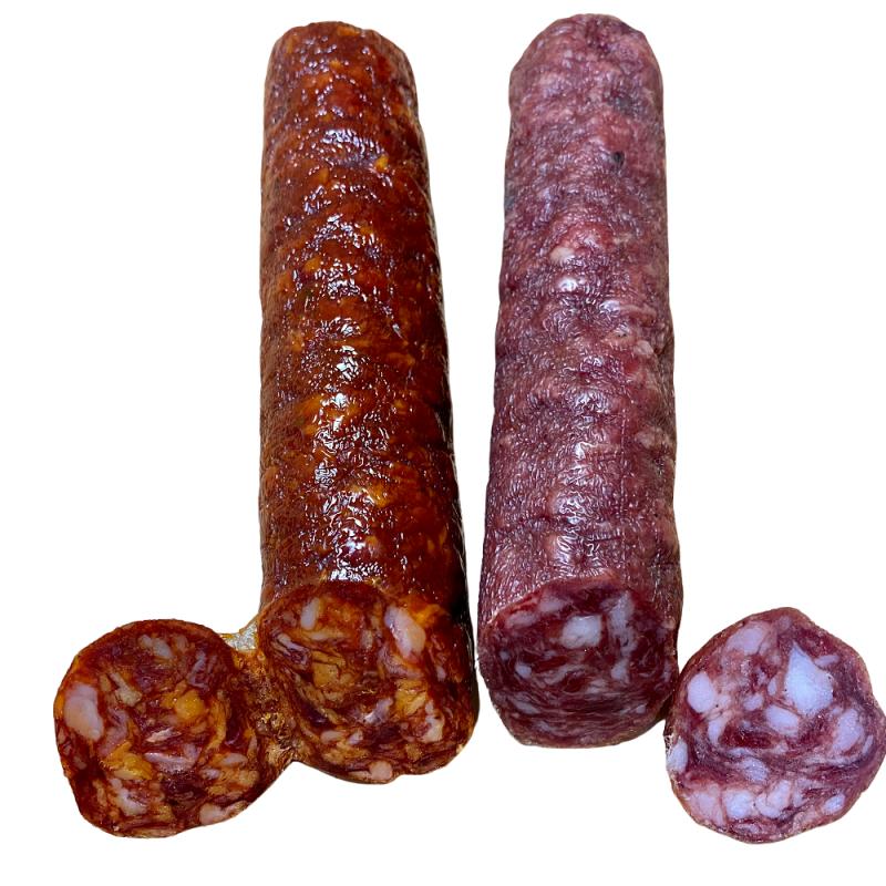 Ibericó-Salami (Salchichón Ibérico) 200 g und Ibérico-Chorizo 200 g