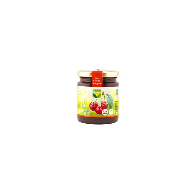 Cherry Marmalade 265 g (with Agave syrup) Cereza