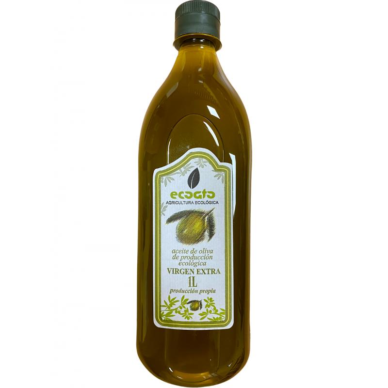 Aceite Ecológico de Oliva Virgen Extra, Coato 1 l.