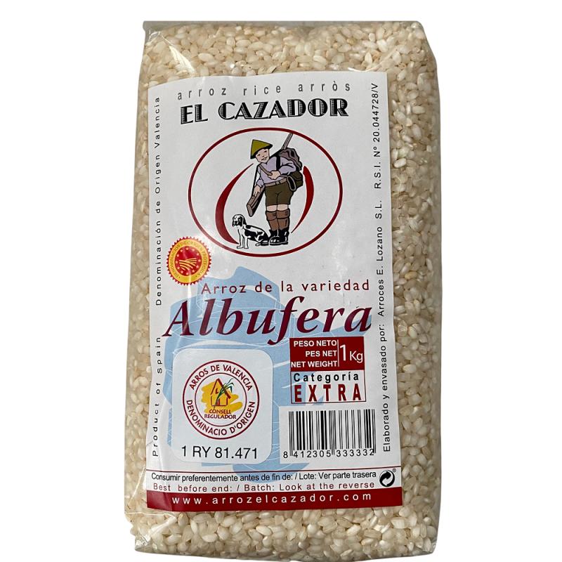 Arroz variedad Albufera 1 kg