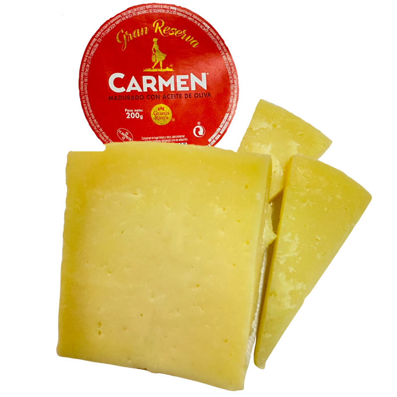 Fromage Manchego affiné, à l'huile d'olive extra vierge 200 g