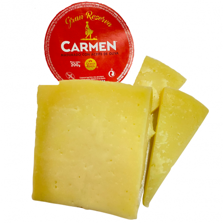 Manchego-Hartkäse, in Olivenöl gereift 200 g
