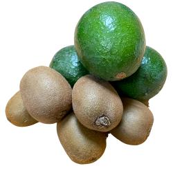 2 Organic Fruits: Kiwis,...