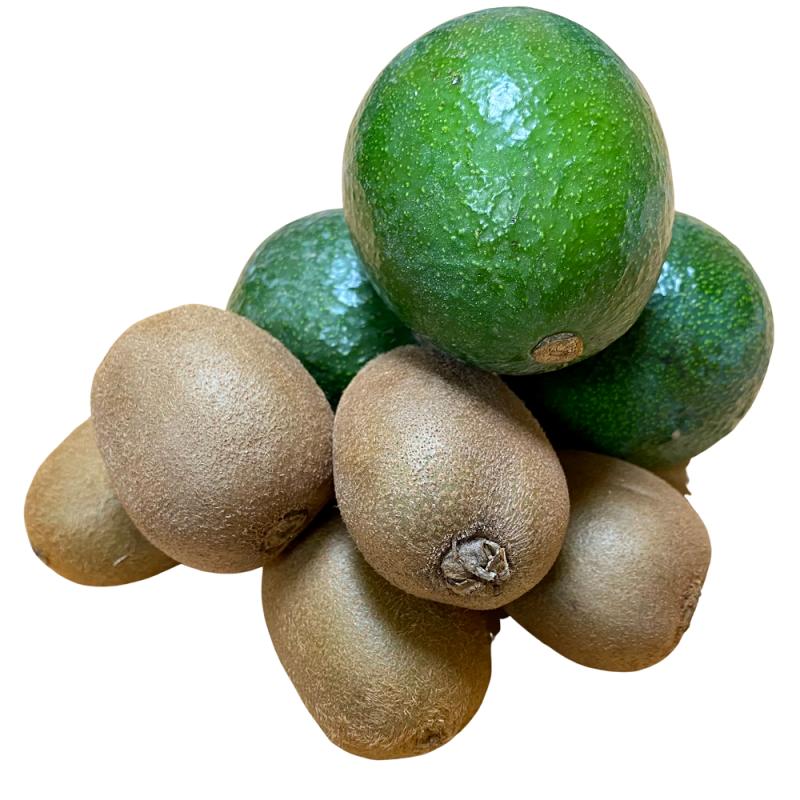 """Fruits écologiques, Kiwis, Avocats """"Reed"""" 5 kg"""