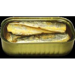 Sardines in organic extra...