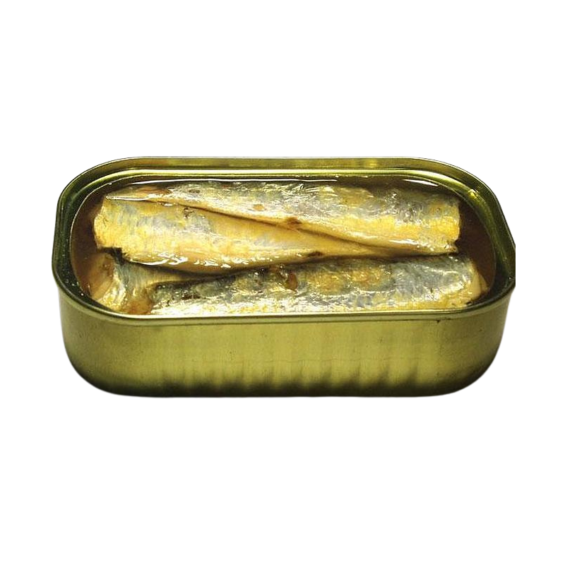 Sardines à l'huile d'olive extra vierge biologique en boîte