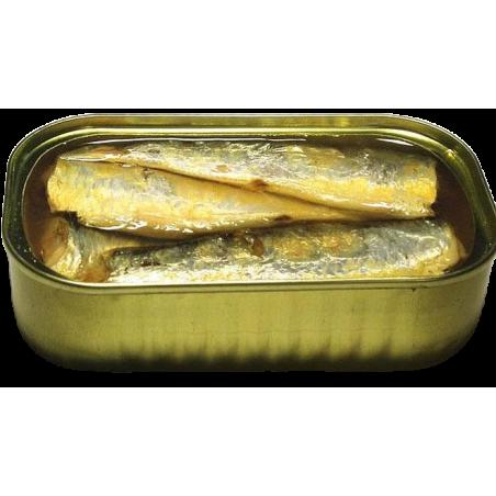 Sardinen in nativem Bio-Olivenöl extra 120 g
