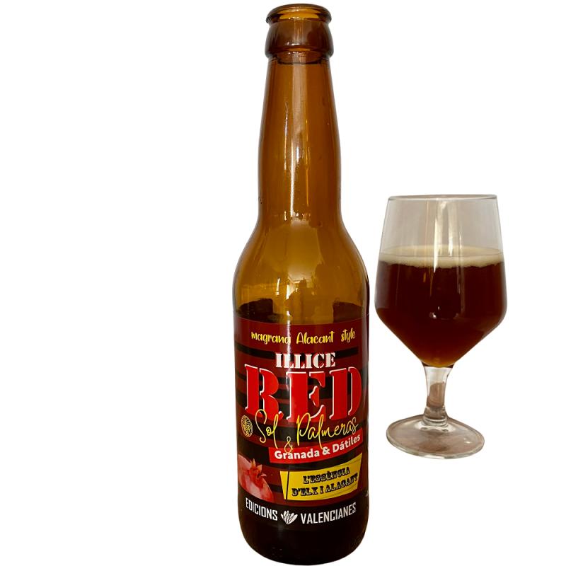 Valencianisches Craft-Granatapfel und Dattel-Bier, 33cl (cerveza de granada)