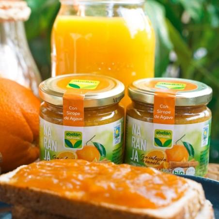 Confiture d'Orange bio avec Agave 265 g