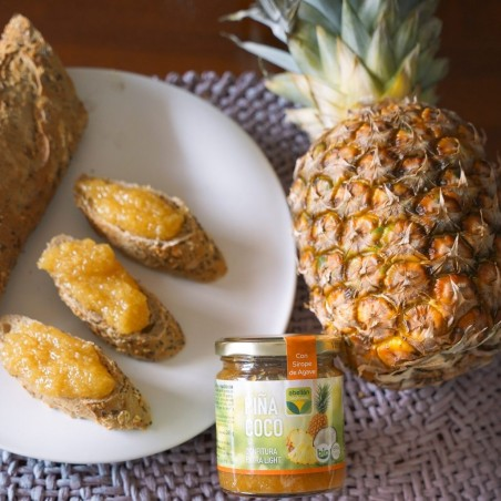 Organic Pineapple and Coconut mit Agave 265 g (piña y coco)