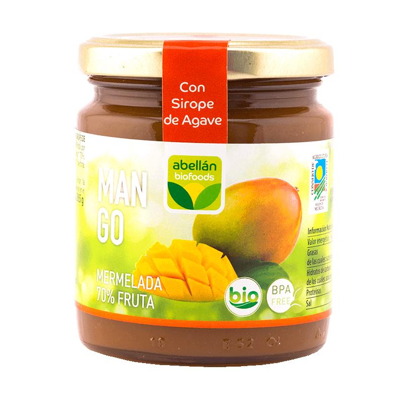 Mermelada de Mango Ecológica 265 g (con Agave)