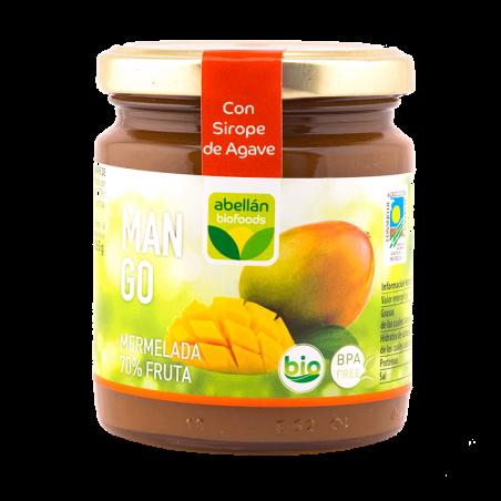 Bio-Mango-Marmelade mit Agavensirup 265 g