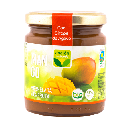 Organic Mango jam with Agave 265 g