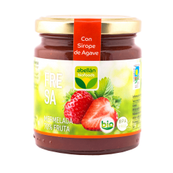 Organic Strawberry jam with...