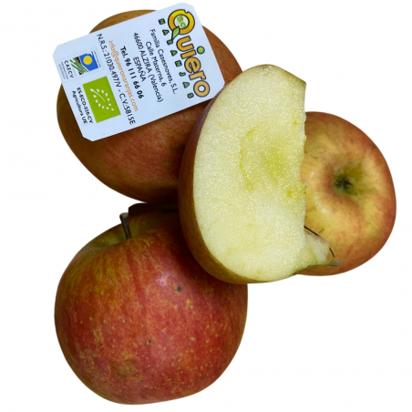 3 Sorten Bio-Obst: Äpfel, Plátanos, Kiwis, (insgesamt 5 kg) (manzana, kiwi, plátano)