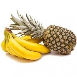 1 Pineapple and Bananas from the Canary islands 5 kg