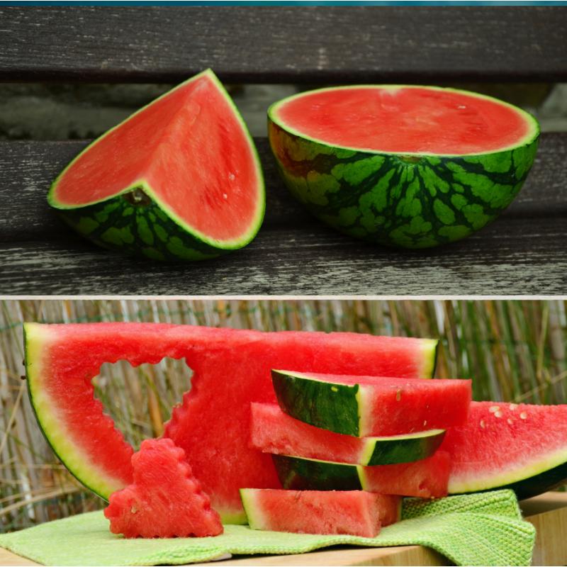 Bio-Wassermelonen, 2-3 Stück (insgesamt 9-11 kg)